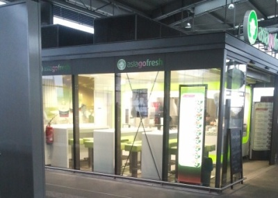 Am Bahnhof Ostkreuz